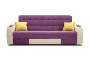 Прямой диван Вито-4 Maserati Purple + White Вид спереди