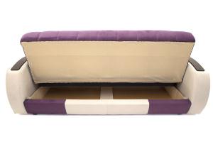 Прямой диван Вито-4 Maserati Purple + White Ящик для белья