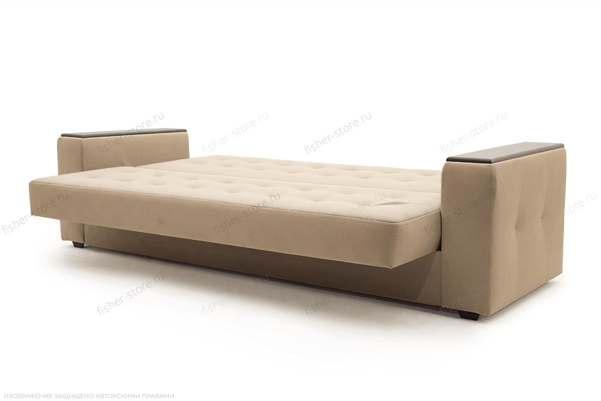Прямой диван Берри люкс Maserati Light brown Спальное место
