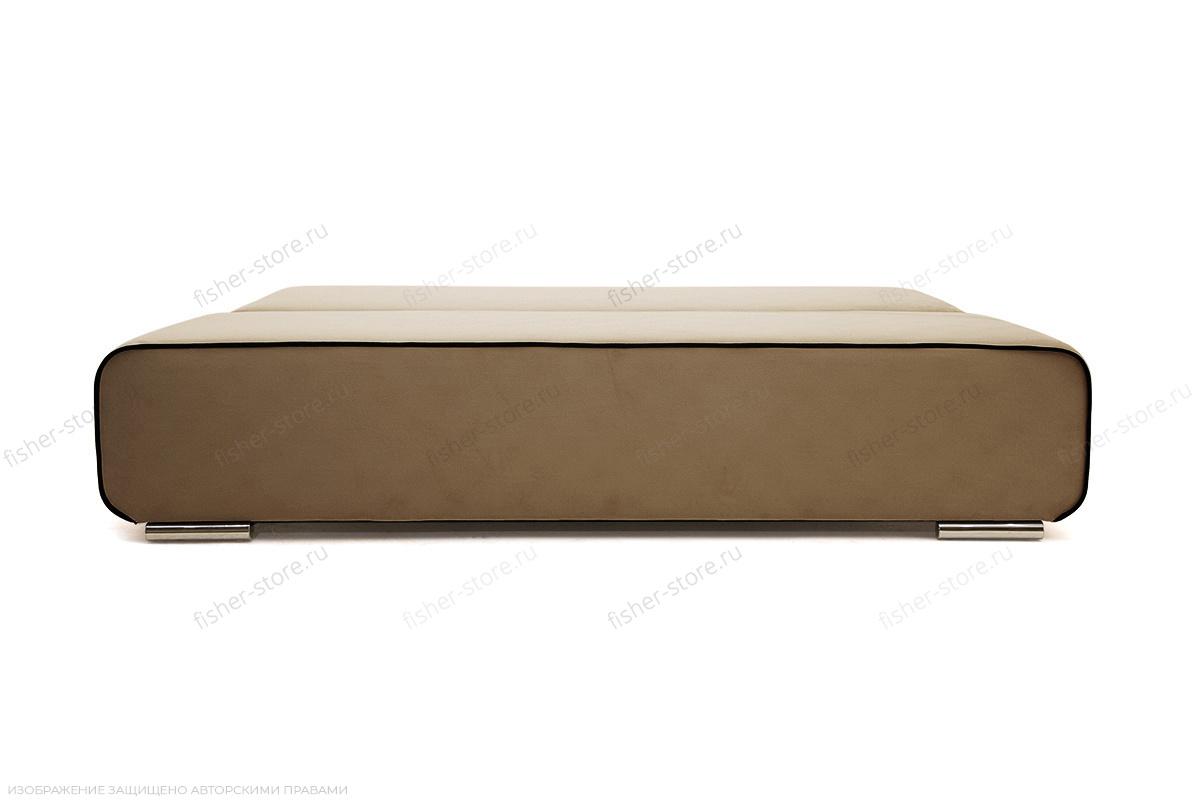 Прямой диван Лаки Maserati Light Brown + Black Спальное место