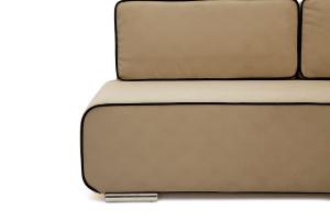 Прямой диван Лаки Maserati Light Brown + Black Ножки