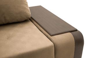 Угловой диван Нью-Йорк-2 Maserati Light brown + Sontex Umber Подлокотник