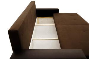 Двуспальный диван Хлоя Maserati Brown + Sontex Umber Ящик для белья