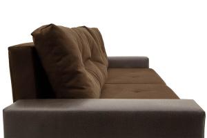 Двуспальный диван Хлоя Maserati Brown + Sontex Umber Подлокотник