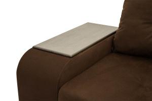 Угловой диван Парадиз Maserati Brown + Beight Подлокотник