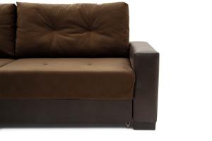 Двуспальный диван Хлоя Maserati Brown + Sontex Umber Ножки
