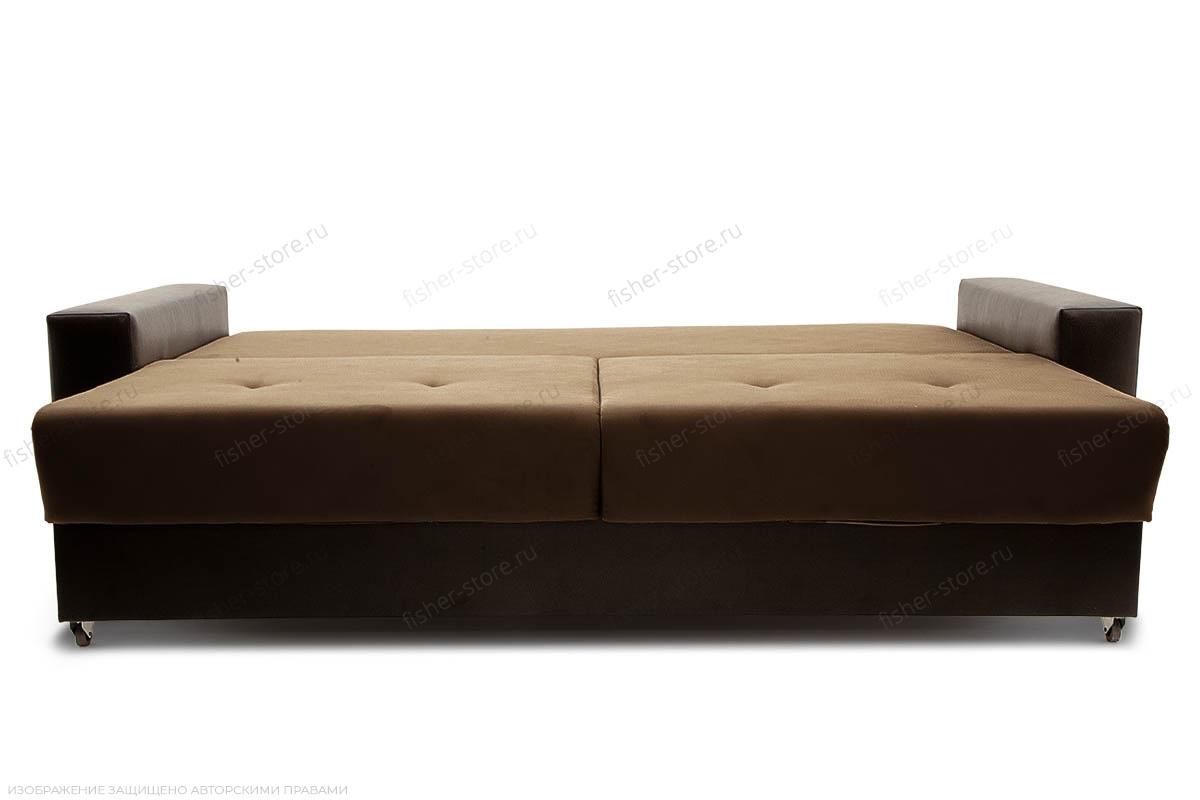 Двуспальный диван Хлоя Maserati Brown + Sontex Umber Спальное место