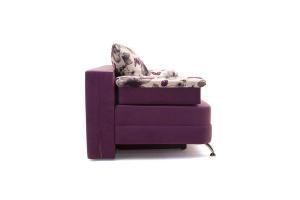 Прямой диван Алия-2 Maserati Purple + Iris Violet Вид сбоку
