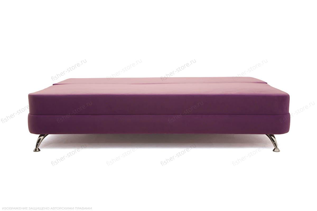 Прямой диван Алия-2 Maserati Purple + Iris Violet Спальное место