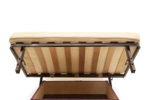 Прямой диван Виа-9 Maserati Purple + Beight Ящик для белья