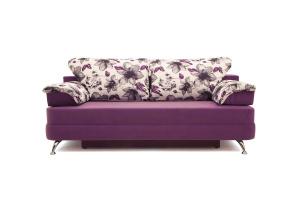 Прямой диван Алия-2 Maserati Purple + Iris Violet Вид спереди