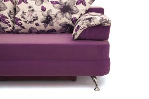 Прямой диван Алия-2 Maserati Purple + Iris Violet Ножки