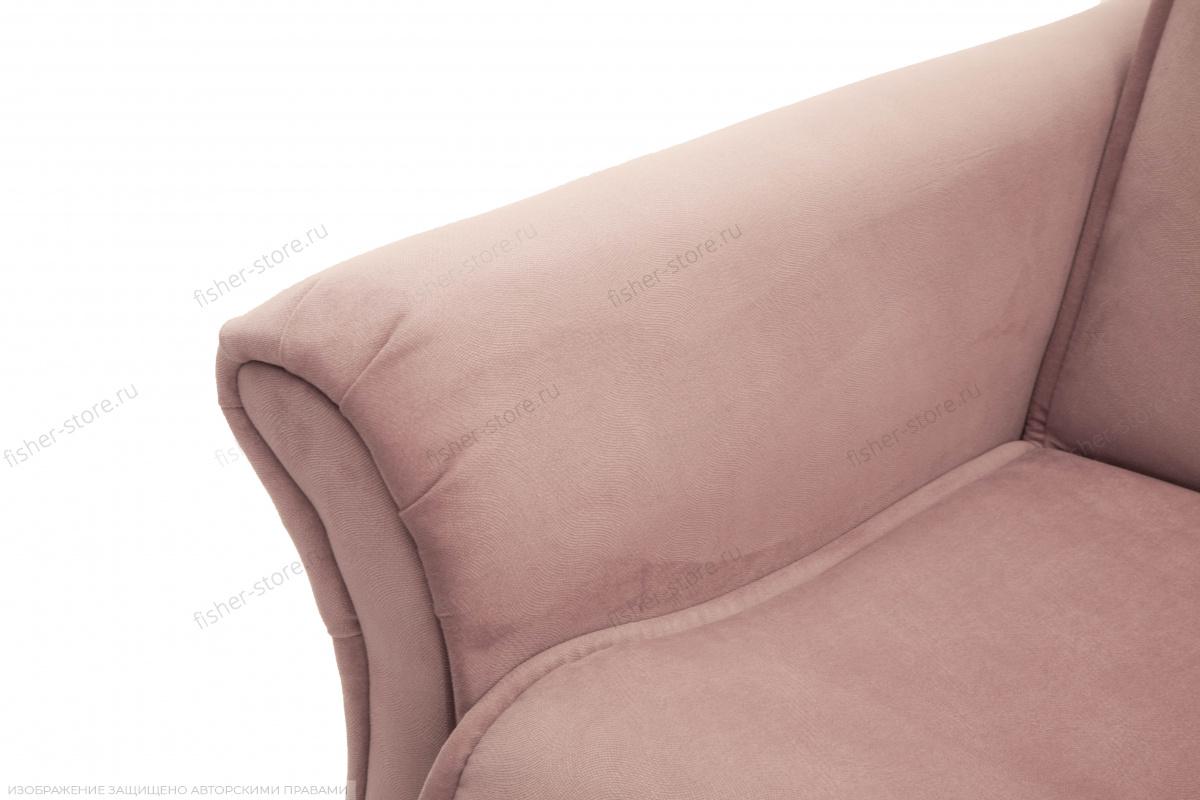 Прямой диван Аккорд-5  Maserati Light Violet Подлокотник