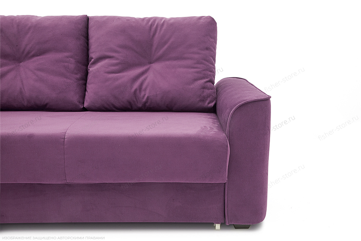 Прямой диван Фьюжн Maserati Purple Ножки