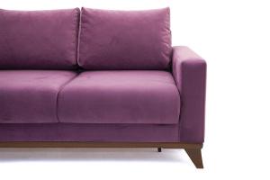 Прямой диван Джерси-2 с опорой №6 Maserati Purple Ножки