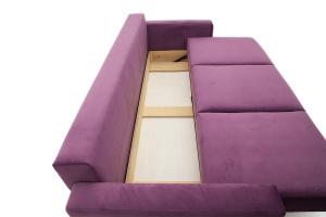 Прямой диван Джерси-2 с опорой №6 Maserati Purple Ящик для белья