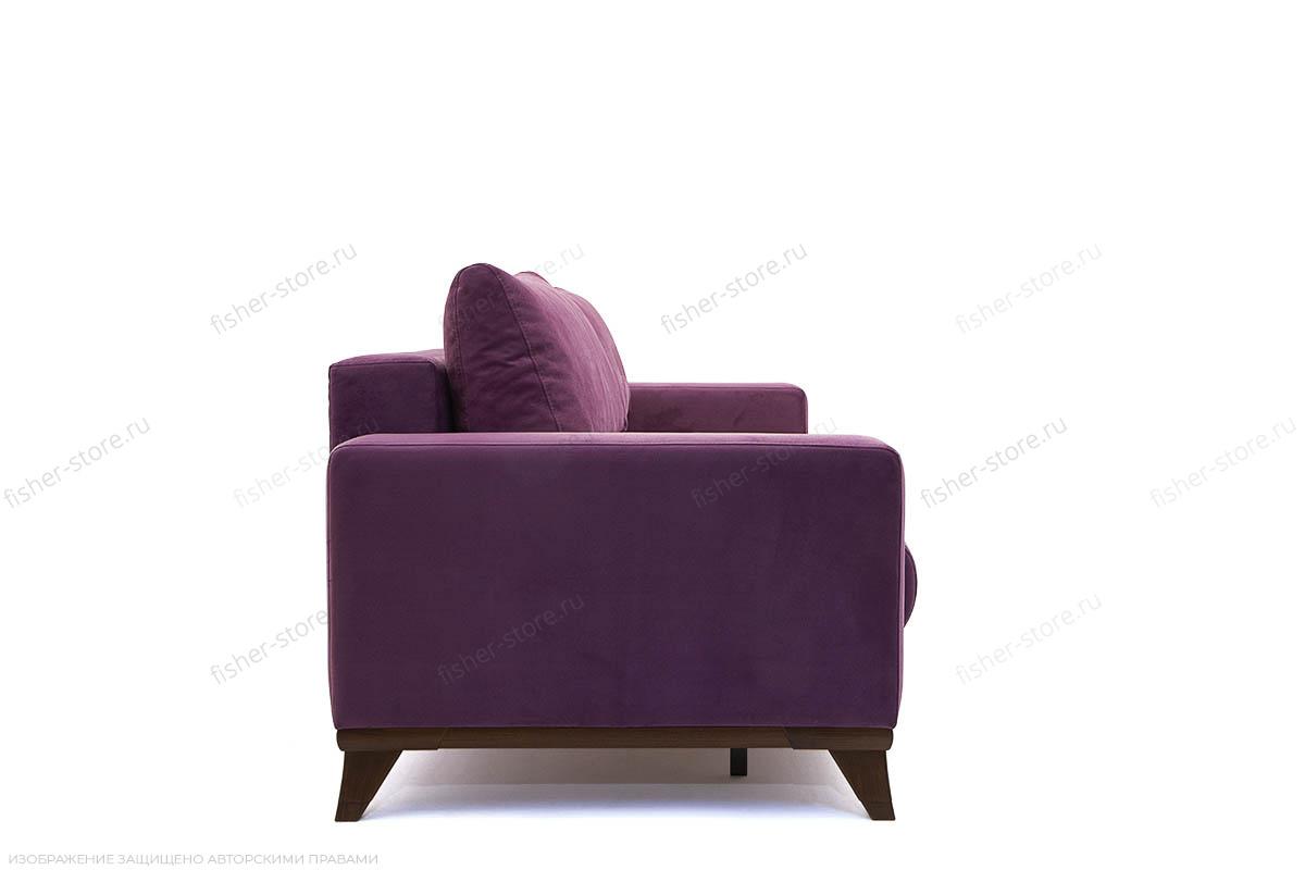 Прямой диван Джерси-2 с опорой №6 Maserati Purple Вид сбоку