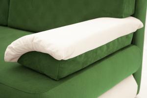 Прямой диван Фиджи Maserati Green + White Подушки