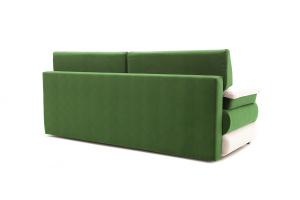 Прямой диван Фиджи Maserati Green + White Вид сзади