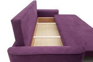 Прямой диван Фьюжн Maserati Purple Ящик для белья