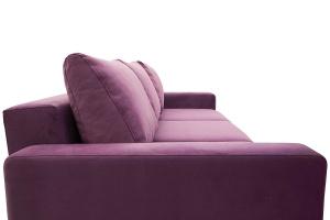 Прямой диван Джерси-2 с опорой №6 Maserati Purple Подушки