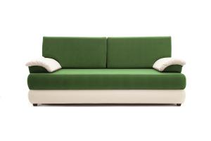 Прямой диван Фиджи Maserati Green + White Вид спереди