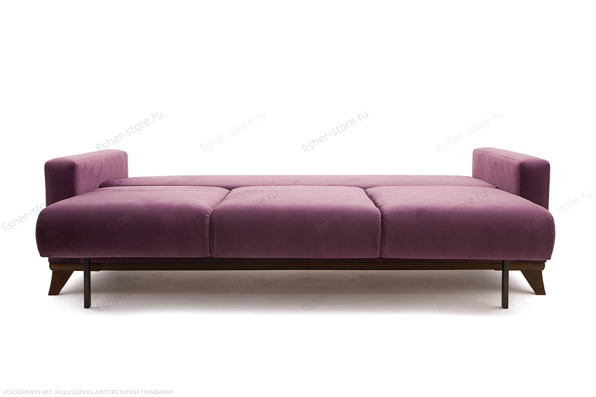 Прямой диван Джерси-2 с опорой №6 Maserati Purple Спальное место