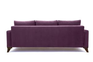 Прямой диван Джерси-2 с опорой №6 Maserati Purple Вид сзади