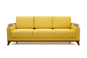 Прямой диван Джерси-3 с опорой №6 Maserati Yellow Вид спереди