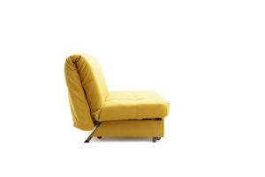 Прямой диван Виа Maserati Yellow Вид сбоку