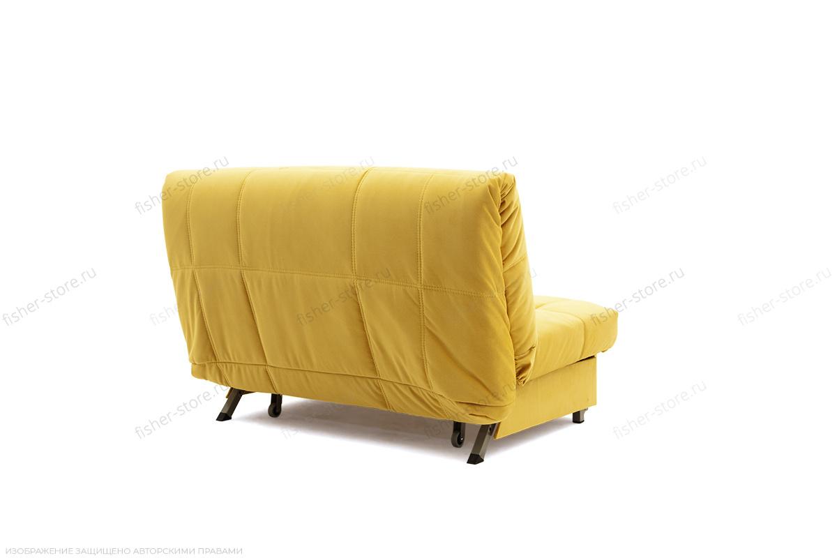 Прямой диван Виа Maserati Yellow Вид сзади