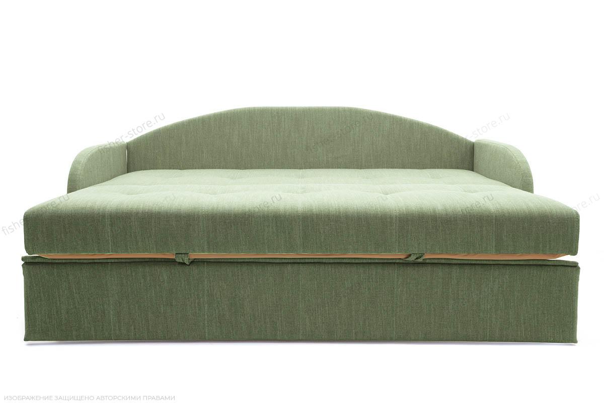 Софа раскладная Венеция-4 Orion Green + History Summer Спальное место