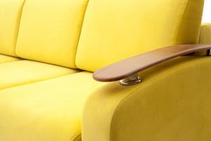 Прямой диван Джерси-3 с опорой №6 Maserati Yellow Подлокотник