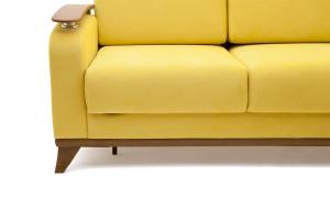 Прямой диван Джерси-3 с опорой №6 Maserati Yellow Ножки