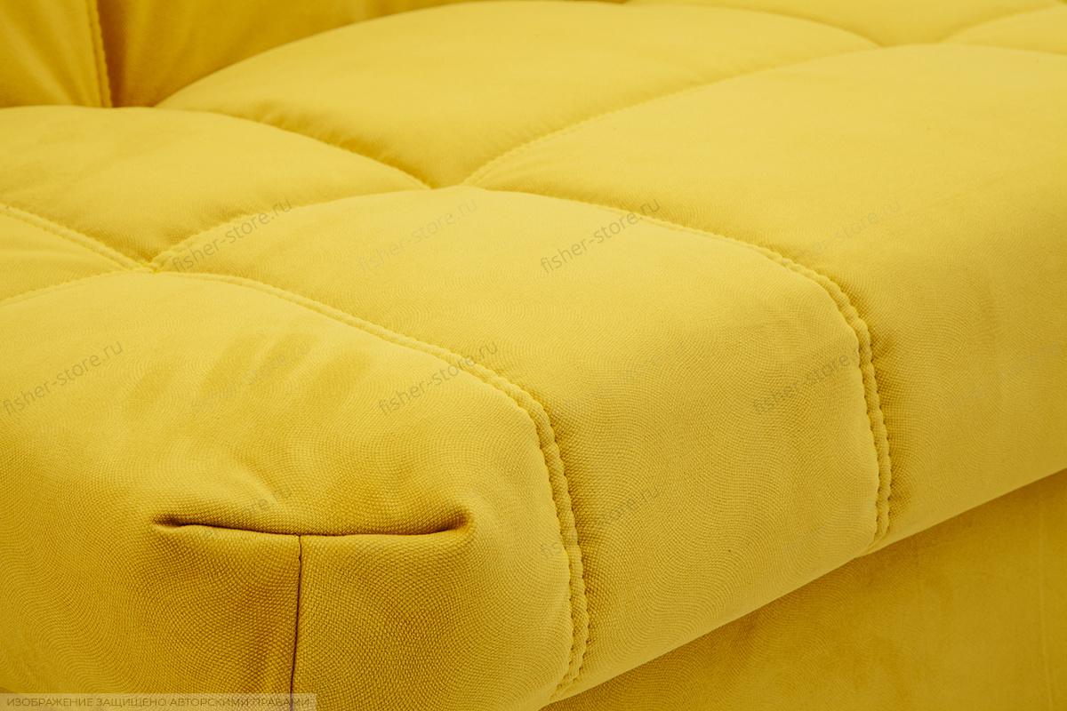 Прямой диван Виа Maserati Yellow Текстура ткани