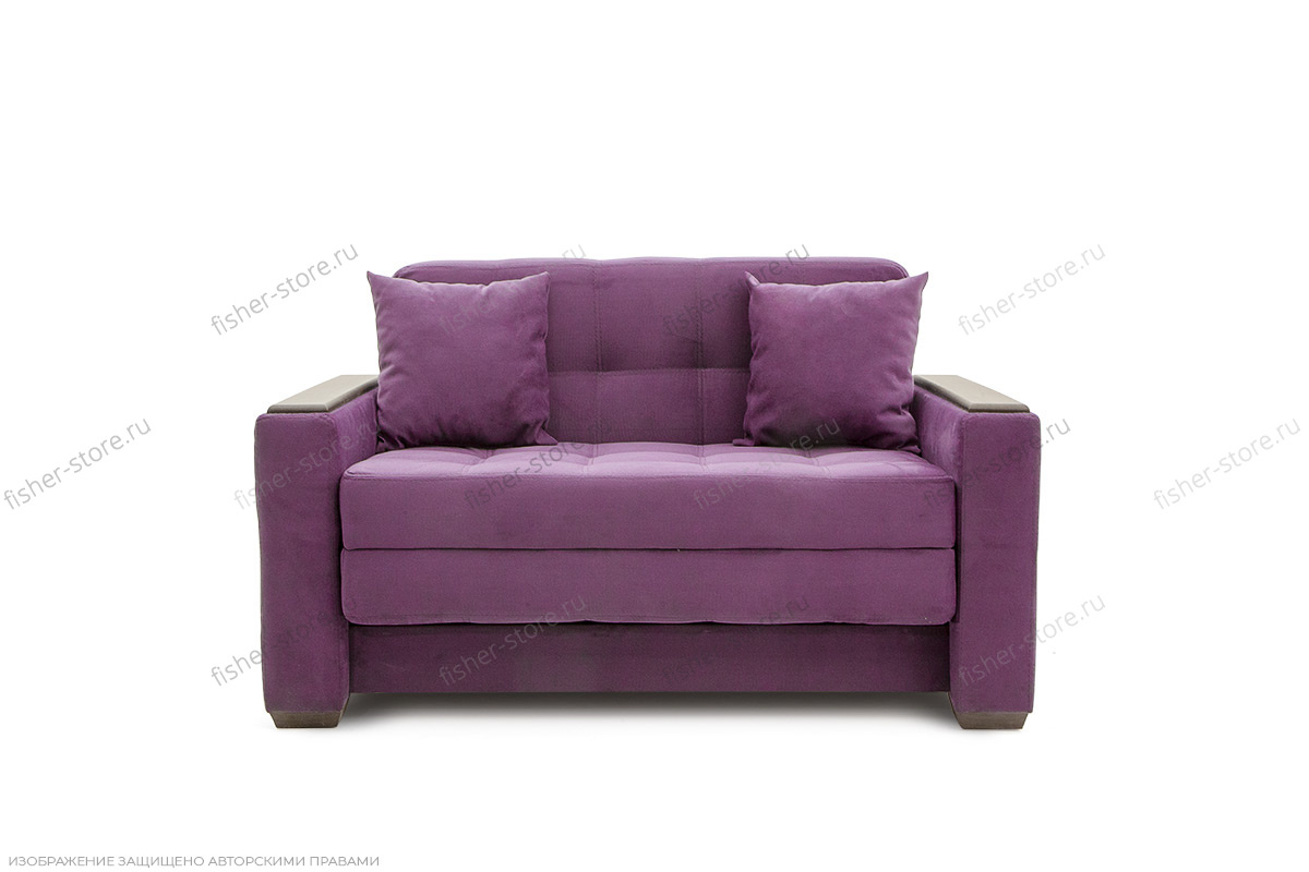 Двуспальный диван Этро люкс Maserati Purple Вид спереди