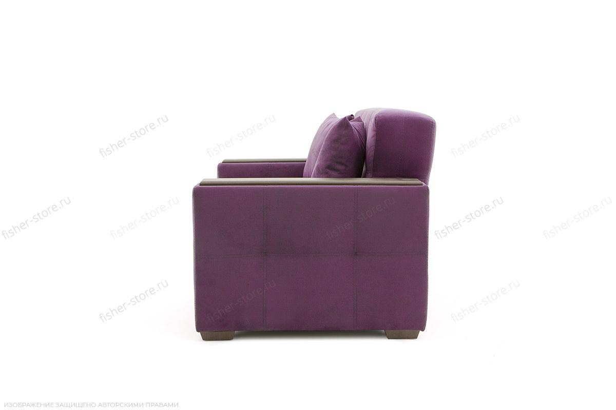 Двуспальный диван Этро люкс Maserati Purple Вид сбоку
