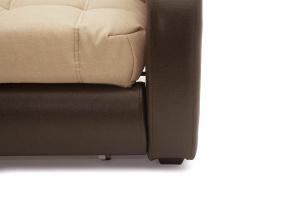 Прямой диван Виа-2 Savana Camel + Sontex Umber Ножки