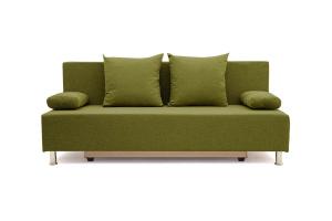 Прямой диван Чарли эконом Dream Green Вид спереди
