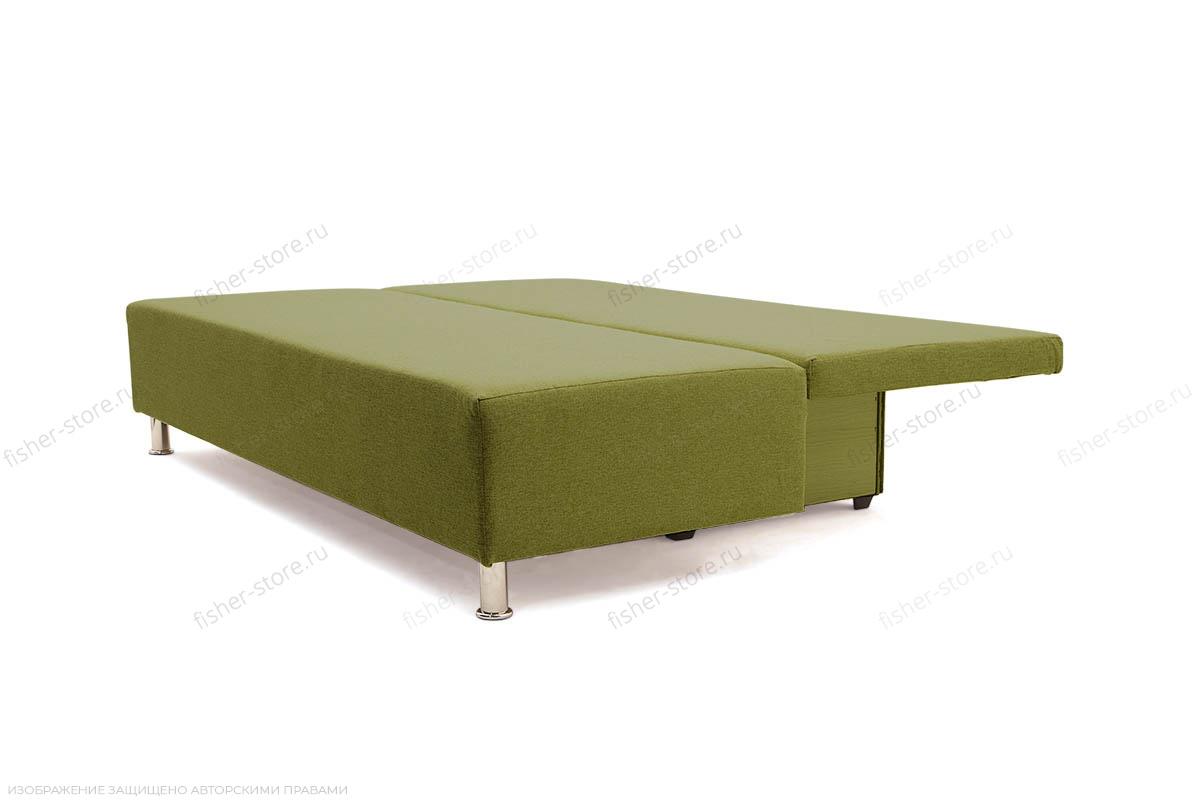 Прямой диван еврокнижка Чарли эконом Dream Green Спальное место
