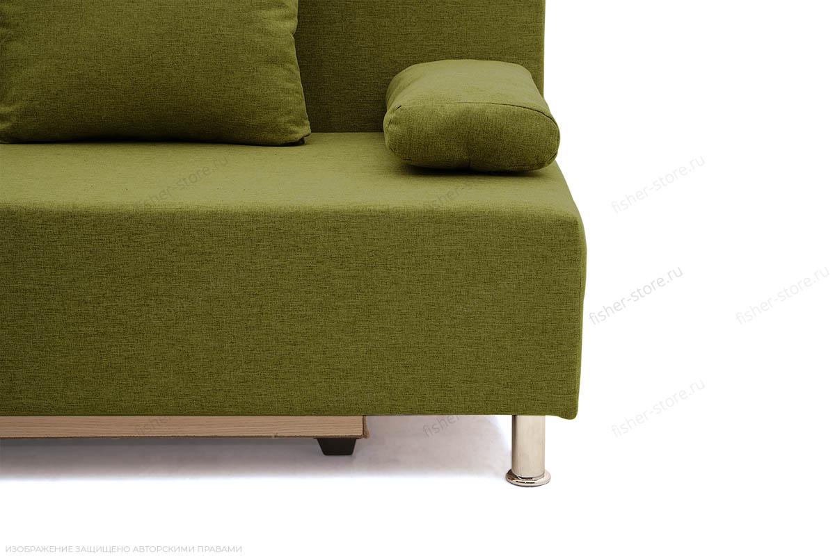 Прямой диван Чарли эконом Dream Green Ножки