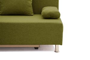 Прямой диван еврокнижка Чарли эконом Dream Green Ножки