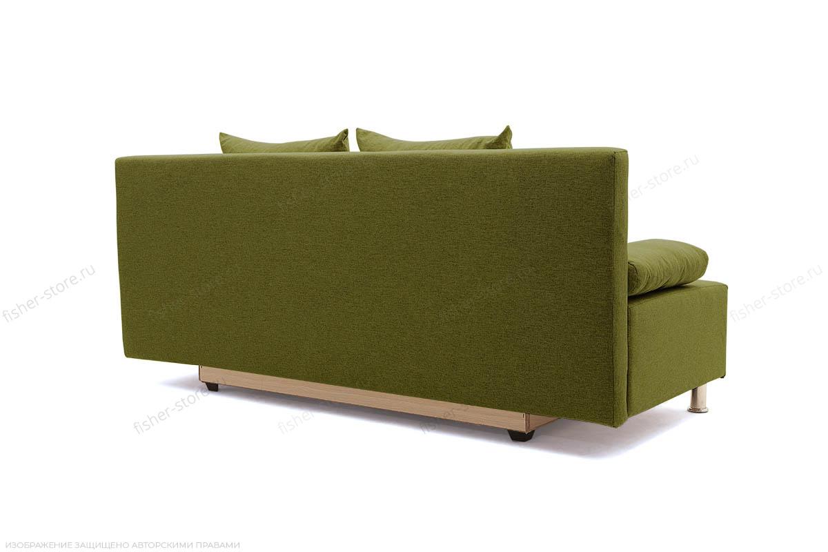 Прямой диван Чарли эконом Dream Green Вид сзади