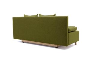 Прямой диван еврокнижка Чарли эконом Dream Green Вид сзади
