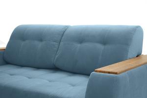 Прямой диван Берлин-2 Maserati Blue Подушки