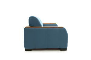 Прямой диван Берлин-2 Maserati Blue Вид сбоку