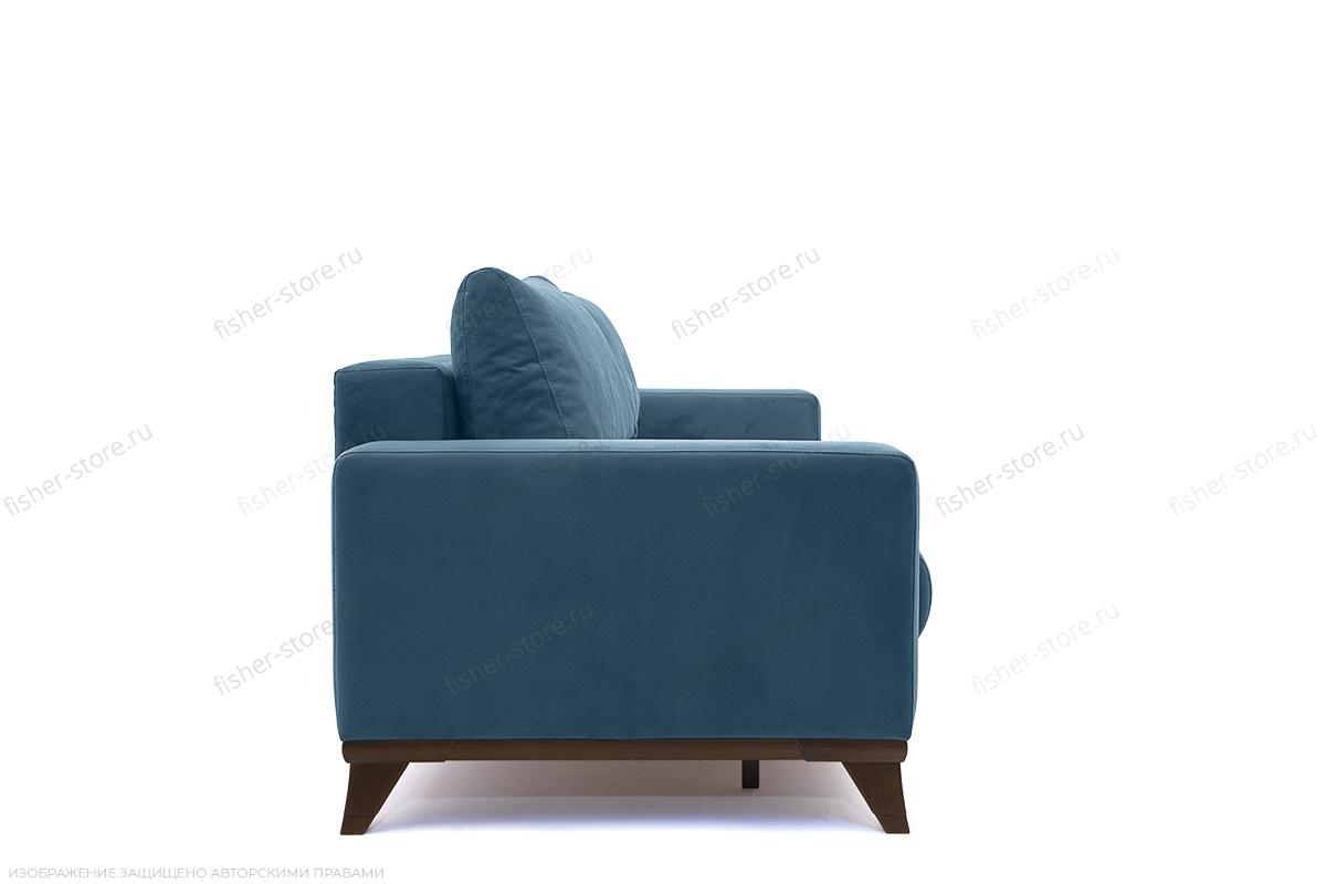 Прямой диван Джерси-2 с опорой №6 Maserati Blue Вид сбоку
