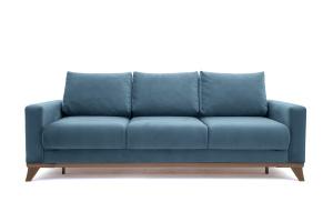 Прямой диван Джерси-2 с опорой №6 Maserati Blue Вид спереди