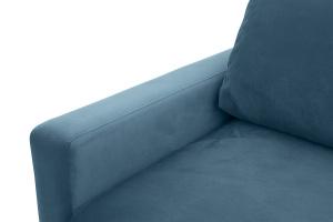Прямой диван Джерси-2 с опорой №6 Maserati Blue Текстура ткани