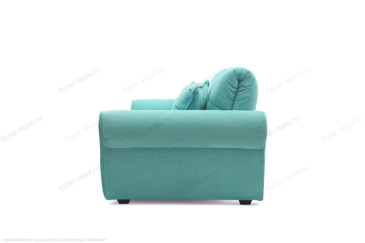 Прямой диван Виа-9 Infiniti Light blue Вид сбоку